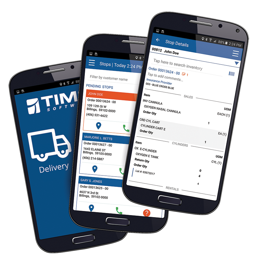 TIMS Software for HME DME Suppliers interested in learning how Mobile Deliver Solutions can be used to track assets and collect vital patient information and collect patient signatures and collect patient payments